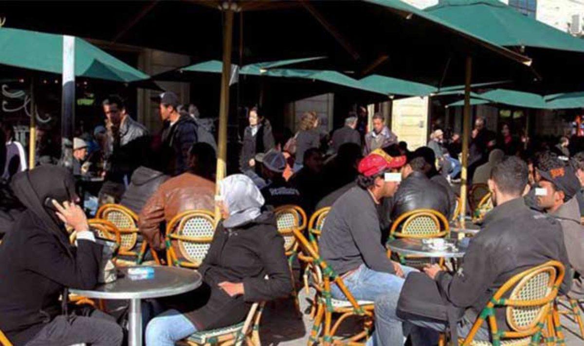المقاهي في تونس