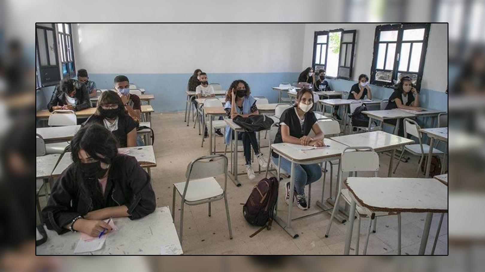 التلاميذ في القسم تونس
