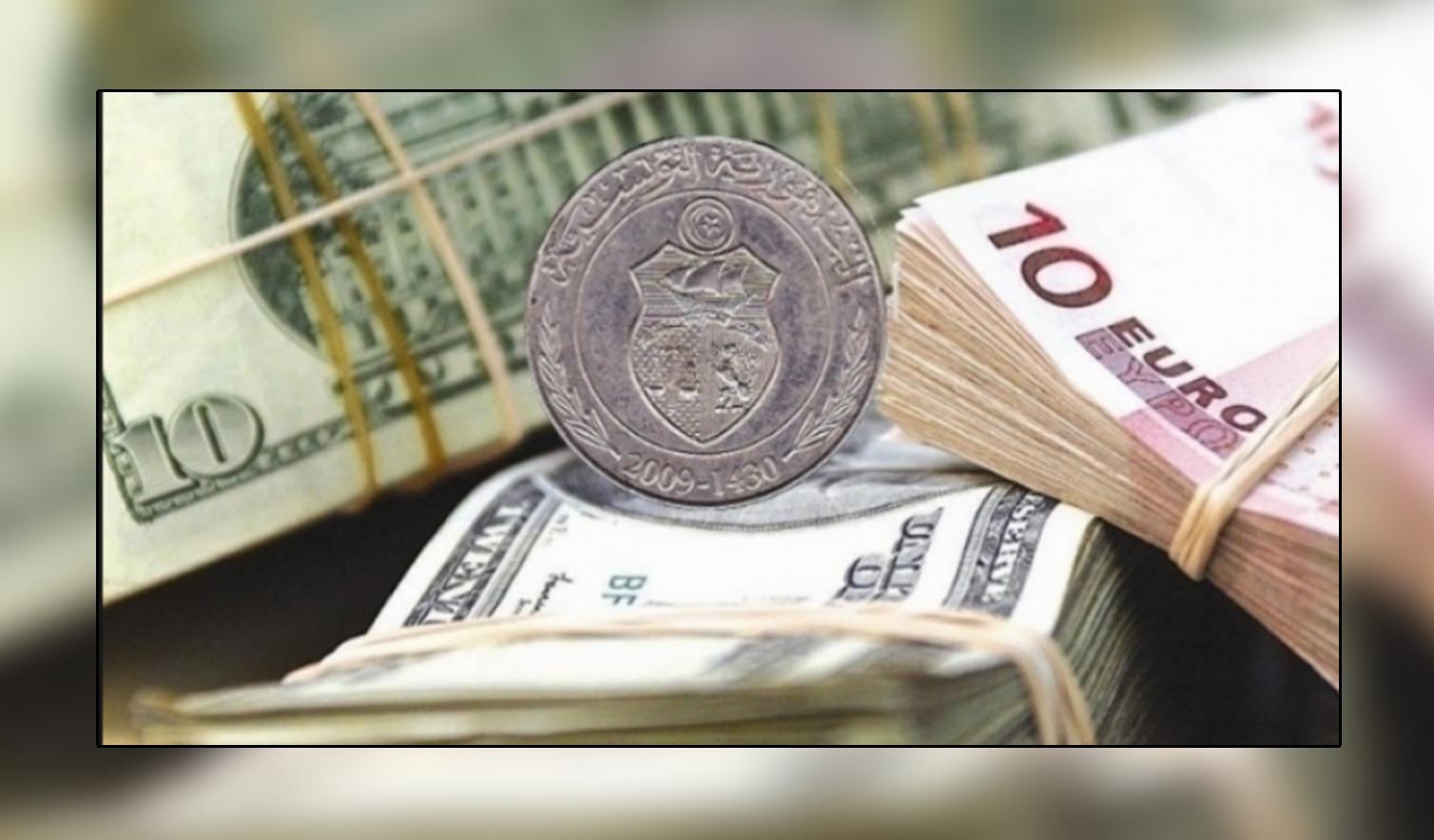 اليورو مقابل الدينار التونسي