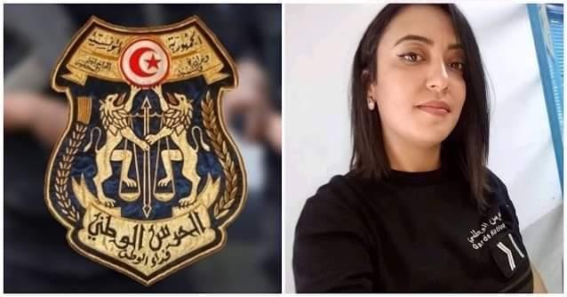 فتاة الحرس الوطني