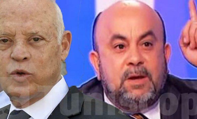 عماد بن حليمة قيس سعيد