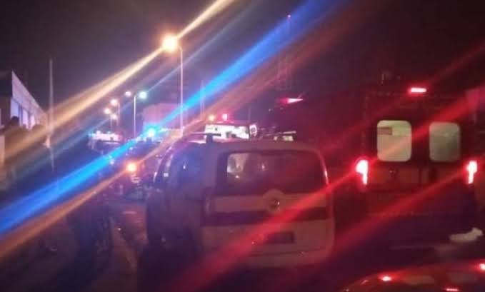 حادثة مقرين الخطيرة وإصطدام قطارين